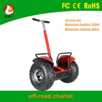 19 inch 2 wheels powerful standing off road smart balance scooter brushless motor electric scooter with handle