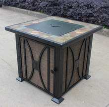 G-FTB-51058D gas fire pit table