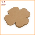Wholesale Eco Sticky Note Self-adhesive Memo Payper 25 Sheets Flower Shape Custom Logo