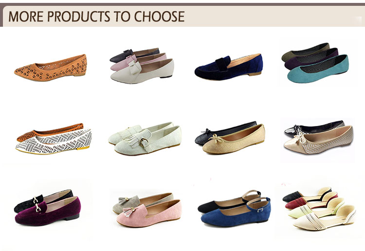 more products flat shoe