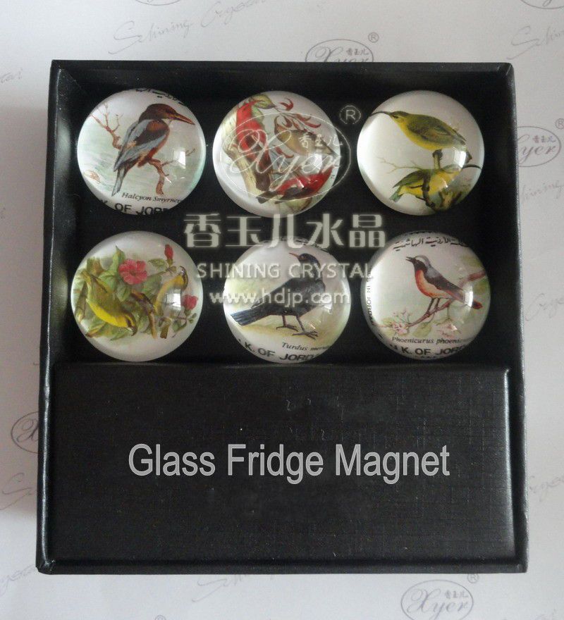 2015 Pujiang Shining hot selling Crystal diamond shaped paperweight refrigerator paperweights