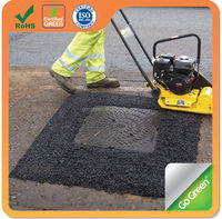 Go Green All weather use cold asphalt paving material