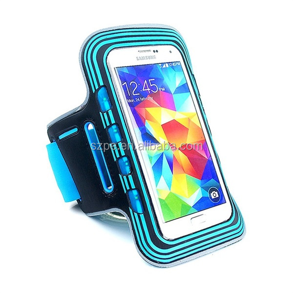 Cheap LED gym sports armband for smart phone