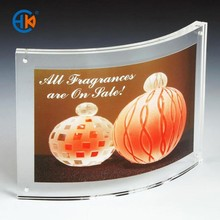 Acrylic waterproof multi magnetic frame , picture frame display stand