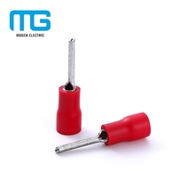 Factory Supply Electrical Copper Insulated Terminal Lugs Pin Type With PVC