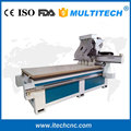 Four Heads 3d Woodworking Cnc Router For Door Cabinet