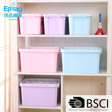 Shunfu EPAG Top 10 save 5% durable 1084 46*32*24 louboutin shoe box storage colorful plastic storage container