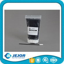 Black Dust Free Clean Room Polyester Swabs For Machine