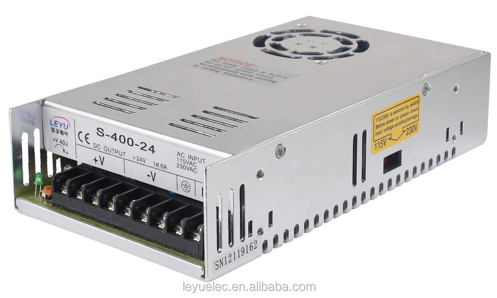 Single output S-400-36V Full solder power supply 400W Breakout Board Interface Adapter