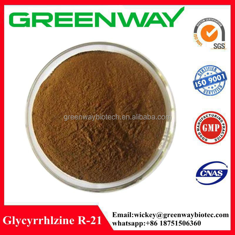 High Quality Licorice Extract R-21,Glycyrrhizine, Glycyrrhizine R-21