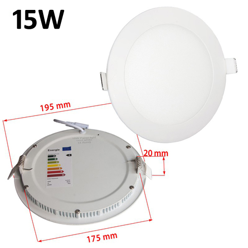 Manufacture professional leading led panel light supplier 15 w slim led panel light