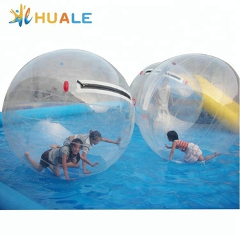 Wholesale outdoor funny inflatable water walking ball for play