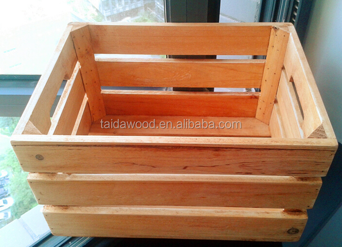 Home decorative wooden crate without lid wooden tray buy decorative wooden crates wood fruit - Decorative wooden crates ...