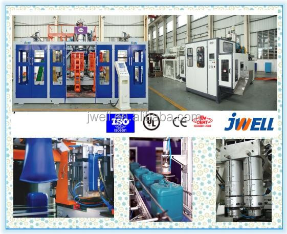 JWELL - plastic seaport tray 1200L blow moulding machine
