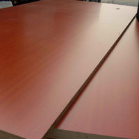 Single/Double-Faced Melamine Faced MDF Board/homebase mdf board