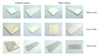 100x100 100x150 200x200 200x300 ceramic glazed white color kitchen tile