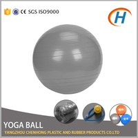 2016 colored plastic balls, inflatable gymnastic ball, stability ball
