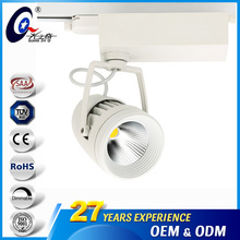 Ceiling Focus Led Track Spot Light Nature White 20W 40W Focuable Cob Track Lamp For Museums