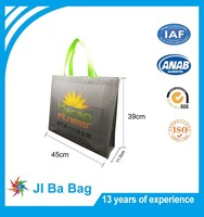 Top quality New fashion stand-up laminated pp non-woven bags