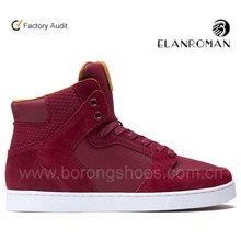 Brand genuine leather men sneaker with air hole casual comfort men shoes