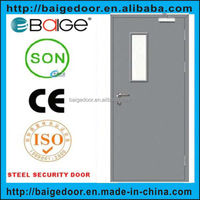 BG-F9026 Used Commercial Glass Fireproof Door