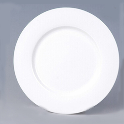 "Hotsale 7.5""/8""/9""/10"" fine bone china white or decal flat plate,soup plate"