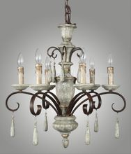 Hot model economic ceiling flush mount chandelier