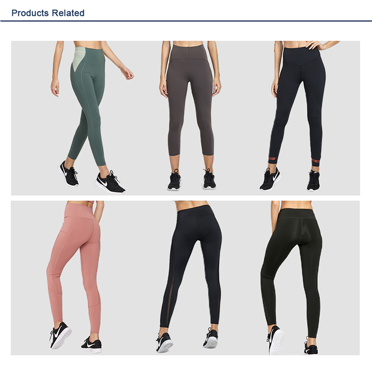 Wholesale yoga pants women leggins fitness sports