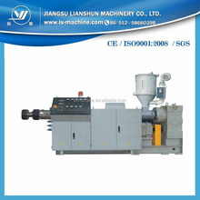 Plastic single screw extruder/Single screw polymer melting extrusion machine