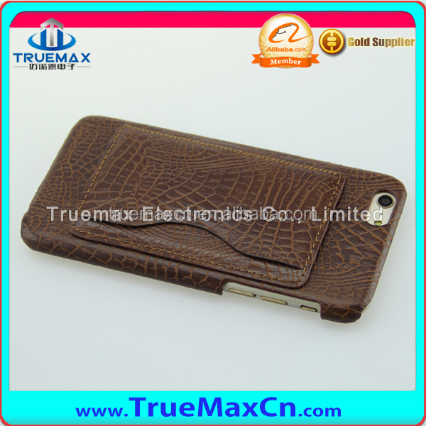 For iphone 6 plus PU case skin cover