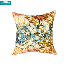 Classical printing flower design car seat cushion cover pillow case
