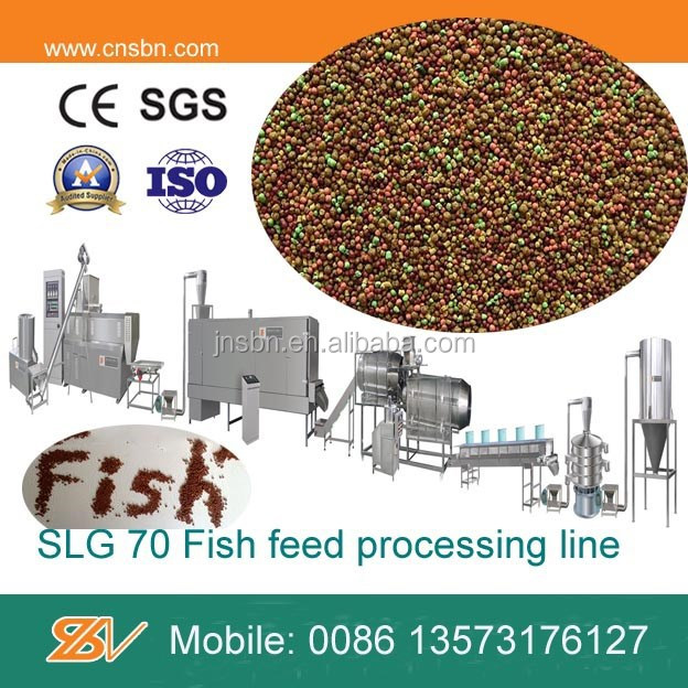 Cost-effective self cleaning Professional sinking fish feed pellet machine
