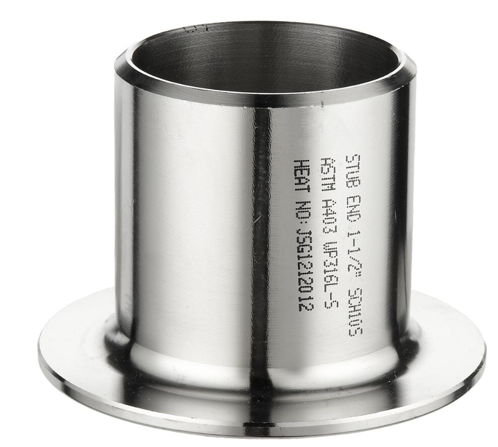 Stainless steel 304L/316L pipe fittings lap joint Stub End