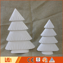 Wholesale white indoor porcelain tree decorations importer christmas ornament