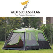 Ultralight high quality one hall one bedroom 5-8 person double layer waterproof camping tent