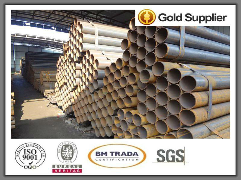 ew hot galvanized steel pipe with high strength