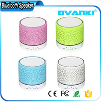 2017 Hot Sale A9 Portable Mini Bluetooth Speaker With LED Light For Computer Speaker With TF USB FM Mic