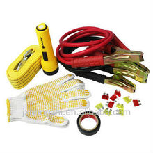 Automobile Emergency Road Kit in Canvas Bag