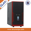 name all parts computer case manufacturer mid tower pc case with USB/AUDIO 5807