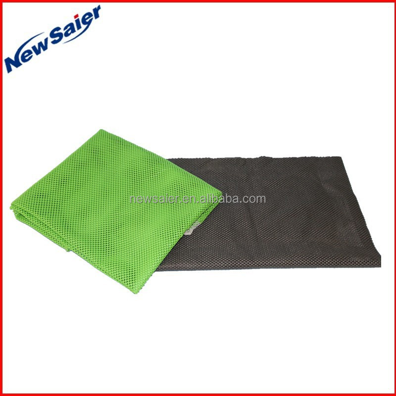 black color fruit and vegetable mat