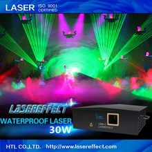 30w green waterproof laser light outdoor laser show laser light
