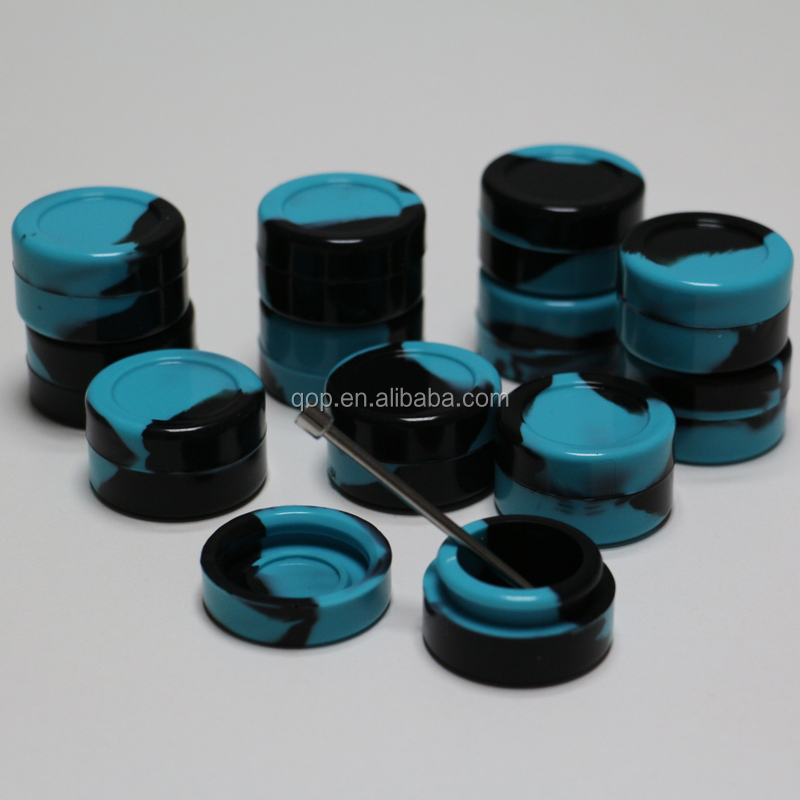 wax storage 5ml custom dab silicone container set