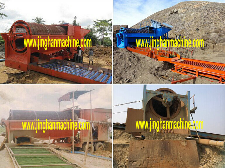 China Alluvial Gold Washing Plant In Guangzhou From