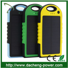 TOP SELLING! 5000mah solar battery charger solar cell phone charger for mobile phone