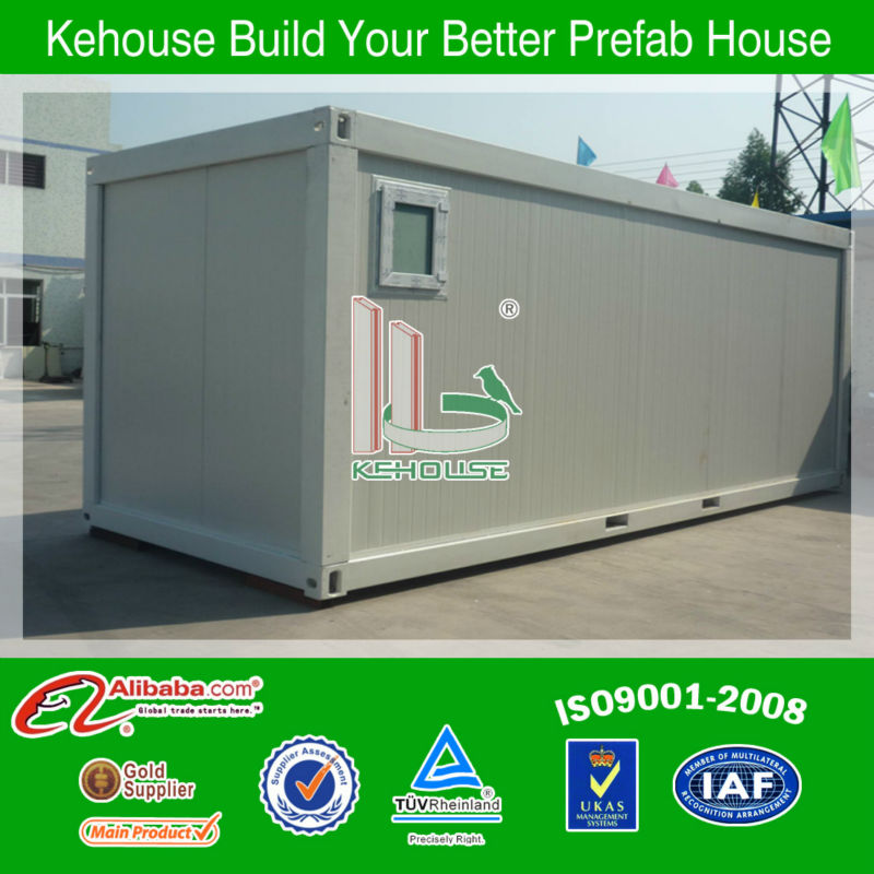 movable steel structure building/ mobile office container