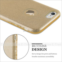 New fashion glitter cellphone accessories case for iphone 6