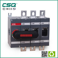 OTE Isolator switch 3 phase 4 poles and 3 poles