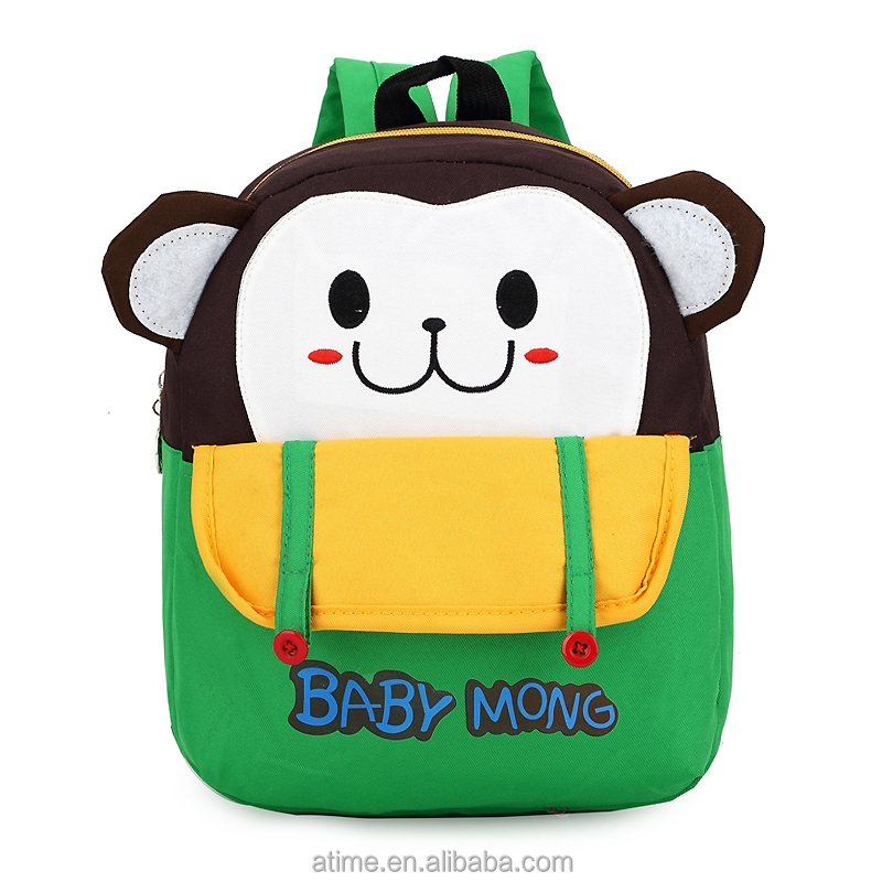 Factory direct supply kids animal backpack personalized backpacks for kids bookbags