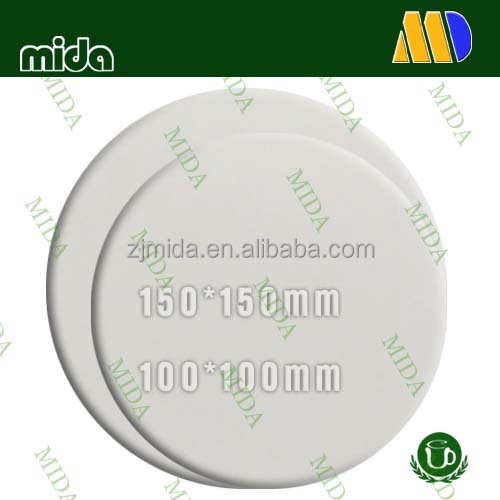 Mida Round Shape Sublimation Ceramic Tiles Procelain Tiles