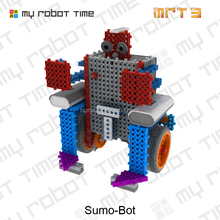 science robot kit for primary school children to learning